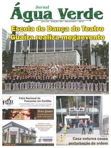 f6624e3ee Jornal Água Verde novembro 2012 by Água Verde Jornal - issuu