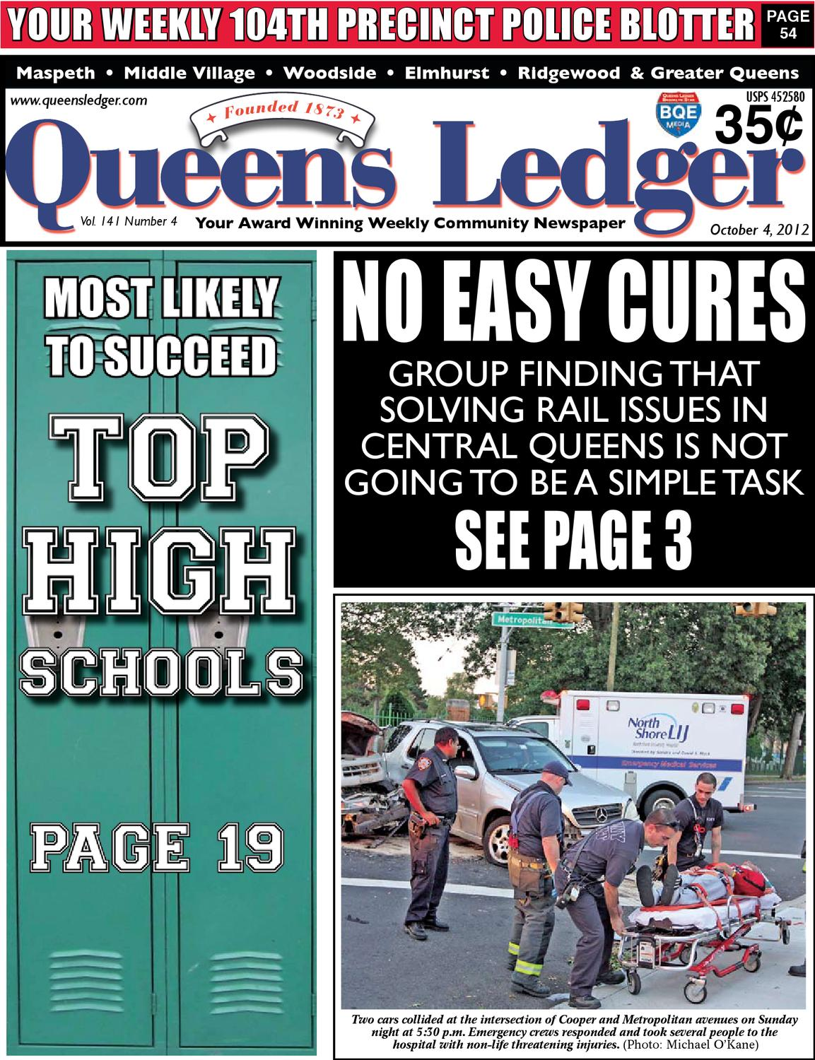 Queens Ledger 2012 High School Issue By Bqe Media Queens