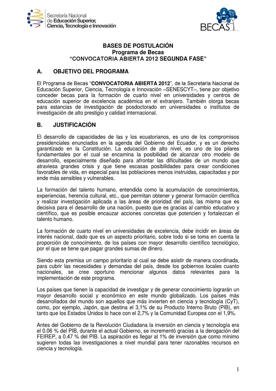 Sistema Convocatoria Abierta by Sistema de Becas sistemabecas - issuu