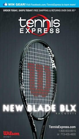 2012 Tennis Express Holiday Catalog New Wilson Blade Blx Racquets
