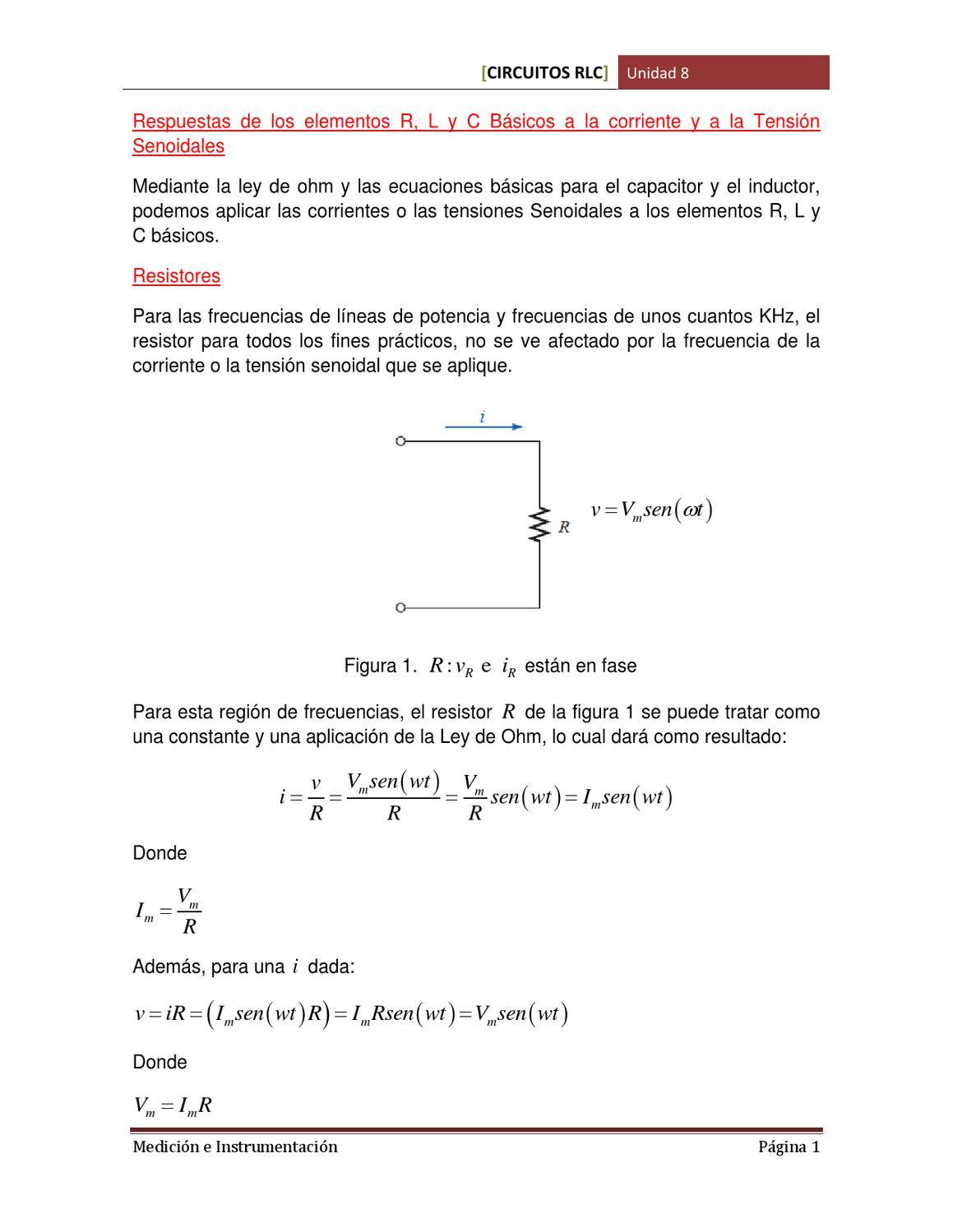 Circuito Rlc : Aplicación circuito rlc ppt descargar