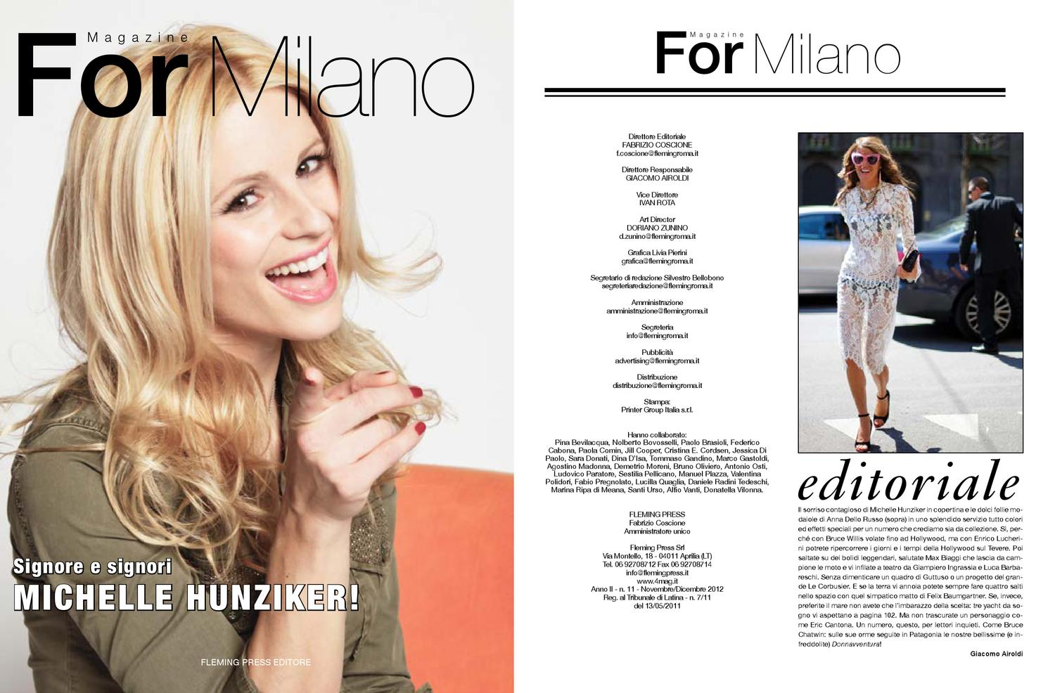 For Milano edizione novembre 2012 by 4mag magazine - issuu 0ee86199558