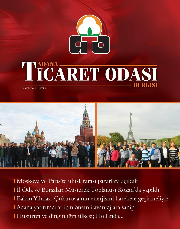df60a87c582b8 Adana Ticaret Odası Dergisi by Adana Ticaret Odası Dergisi - issuu