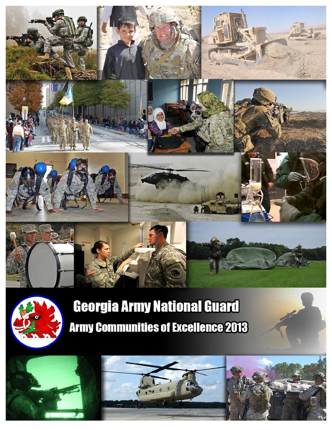 Army Communities of Excellence 2013 by Georgia National