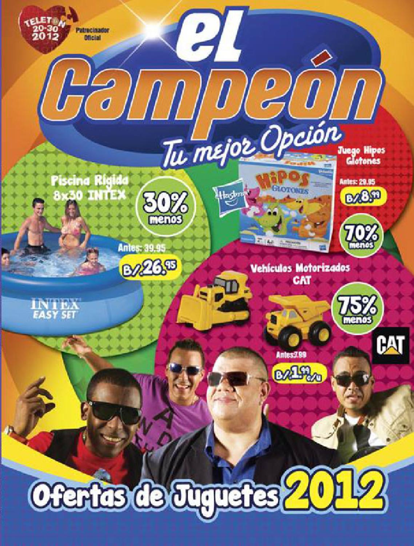 Cat logo de juguetes el campe n by campeon tova sa issuu for Almacen el costo muebleria