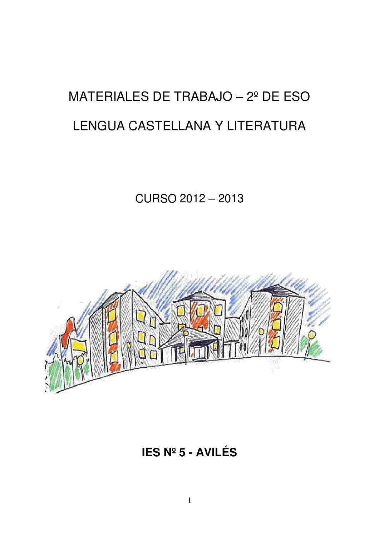 Materiales De Trabajo 2º Eso Lengua Castellana Y Literatura