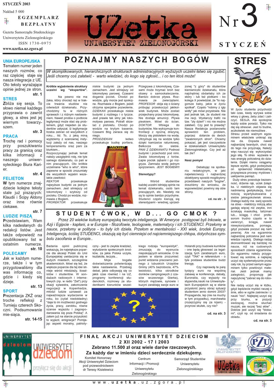 Uzetka Nr 3 Styczeń 2003 By Uzetka Issuu