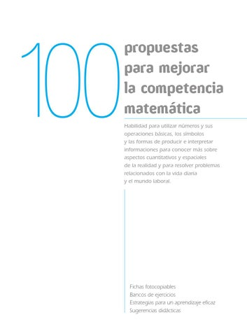 moises Collado by issuu Competencia Matemática Martín 6bfY7gy