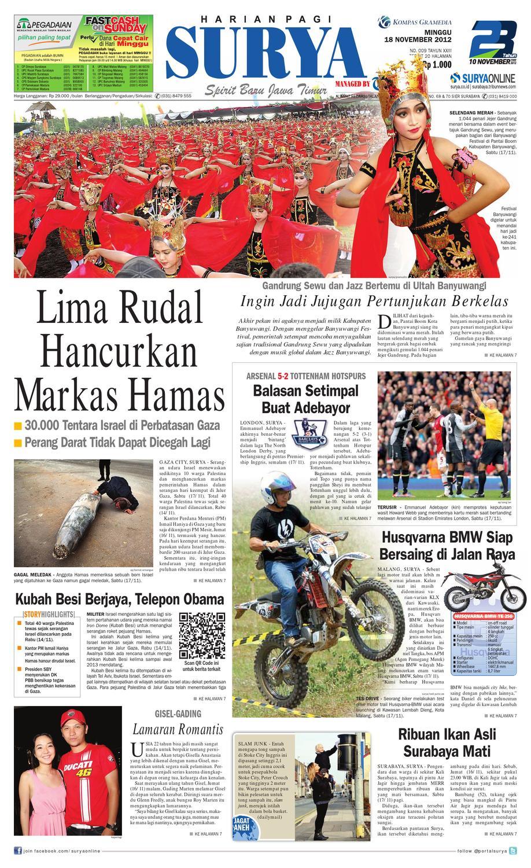 Surya 18 Nopember 2012 By Harian Issuu Kuliner Aneka Sambal Sambel Uleg Ibu Yayuk Bdg