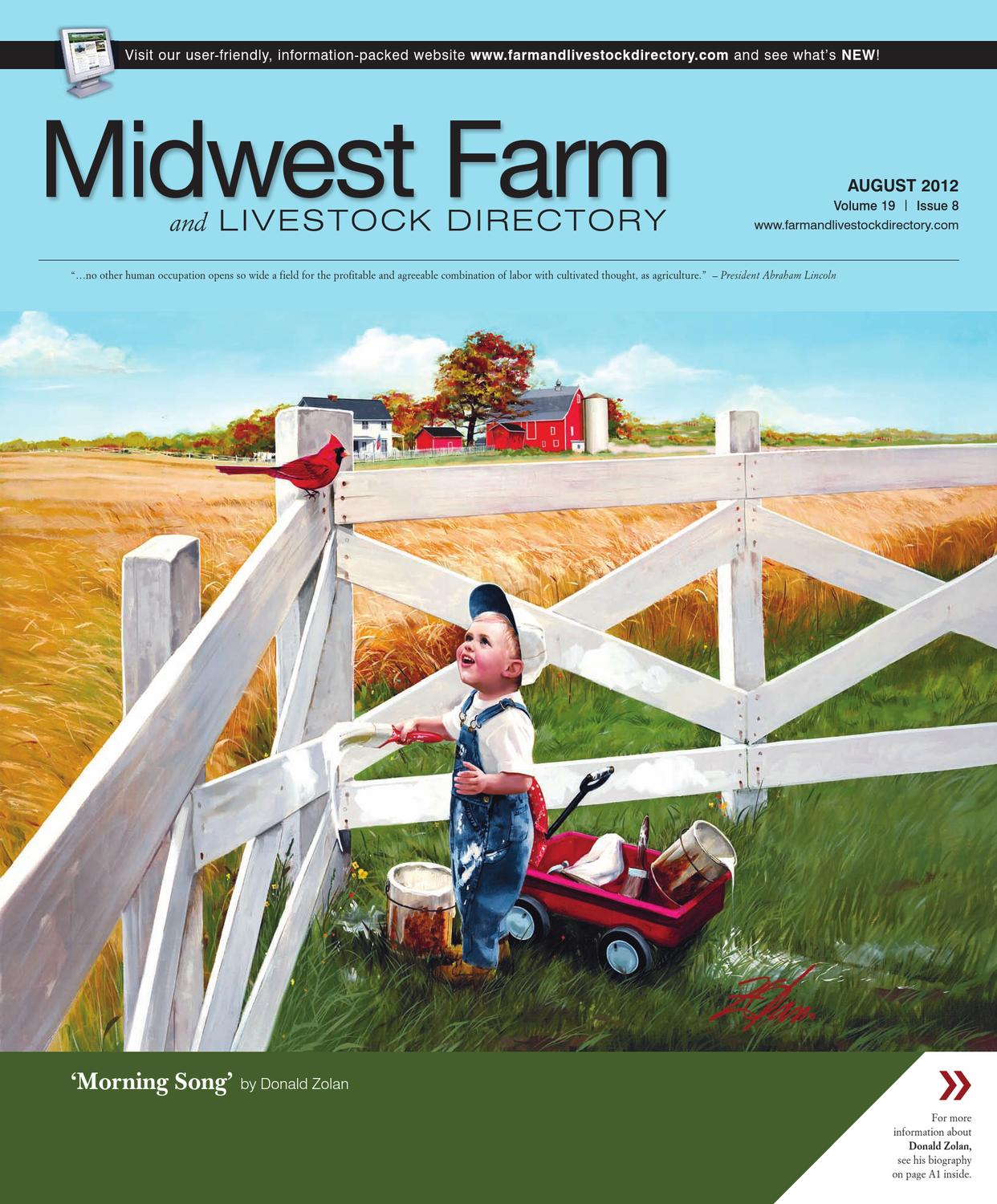 Midwest Farm And Livestock Directory Aug 2012 By Five Star Fld 120 Fuse Box Location Publishing Inc Issuu