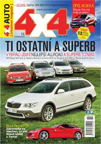 4x4AUTOcrossover magazn 11 2012 by Polygraf Net spol s