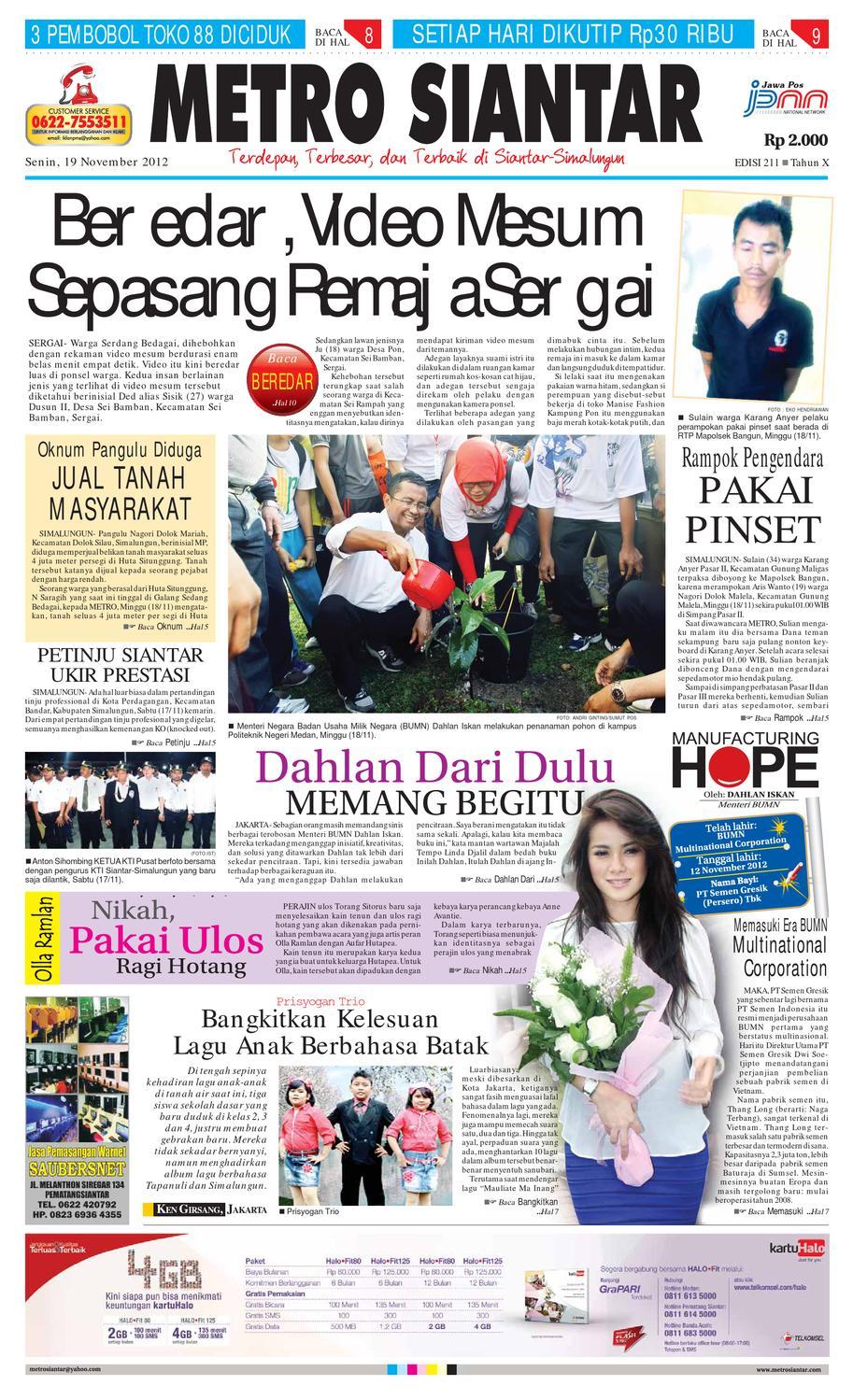 Epaper Metro Siantar By Issuu Produk Ukm Bumn Atasan Tenun Pria Lengan Pendek Hijau B