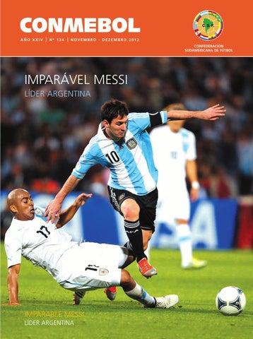 3c2eb1221f Revista Conmebol Nº 134 - nov dic 2012 - español portugués by ...