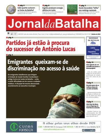 36f6ea827 Jornal da Batalha - Outubro by Jornal Batalha - issuu