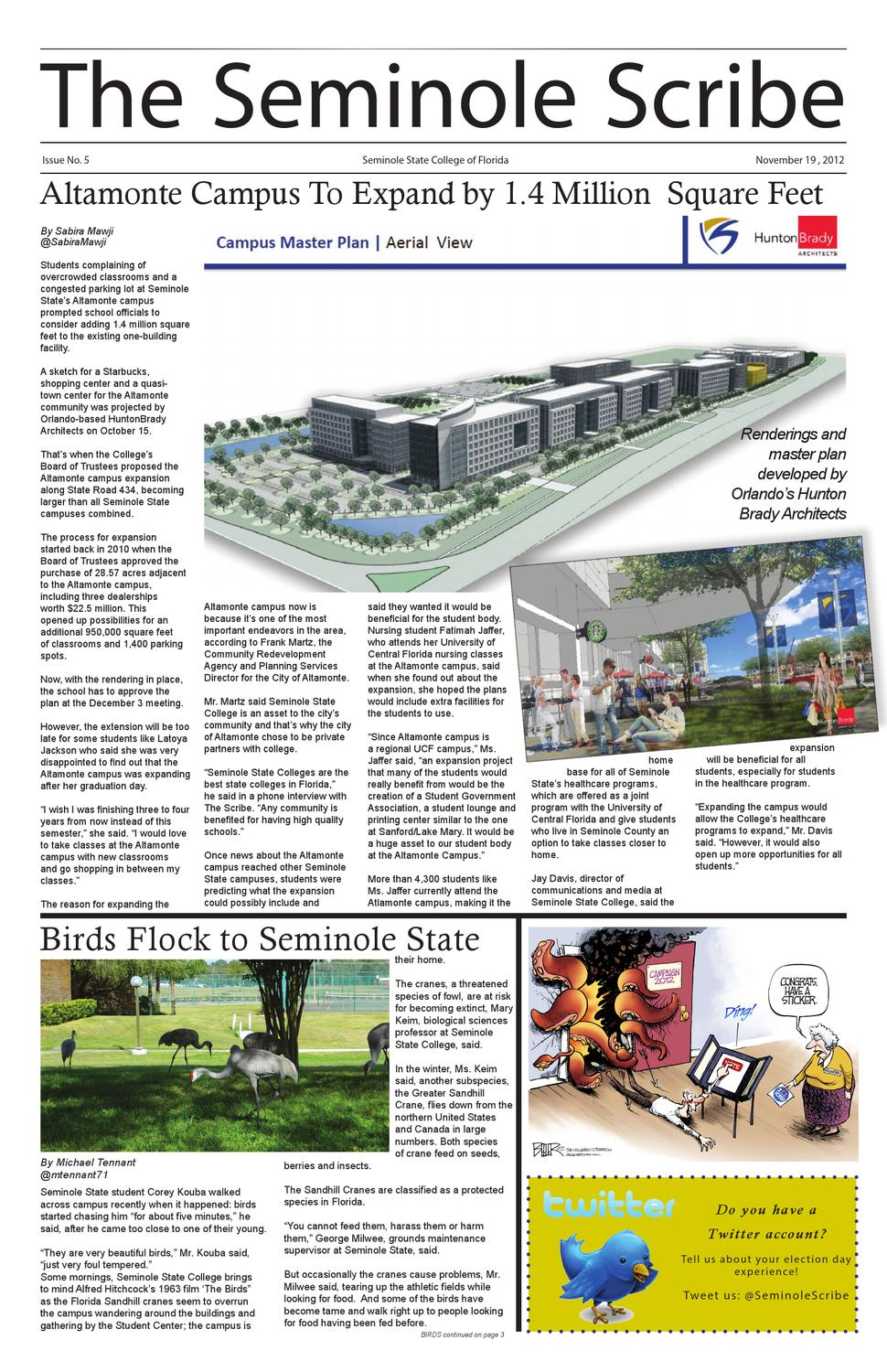 Seminole State Oviedo Campus Map.The Seminole Scribe Newspaper By The Seminole Scribe Issuu
