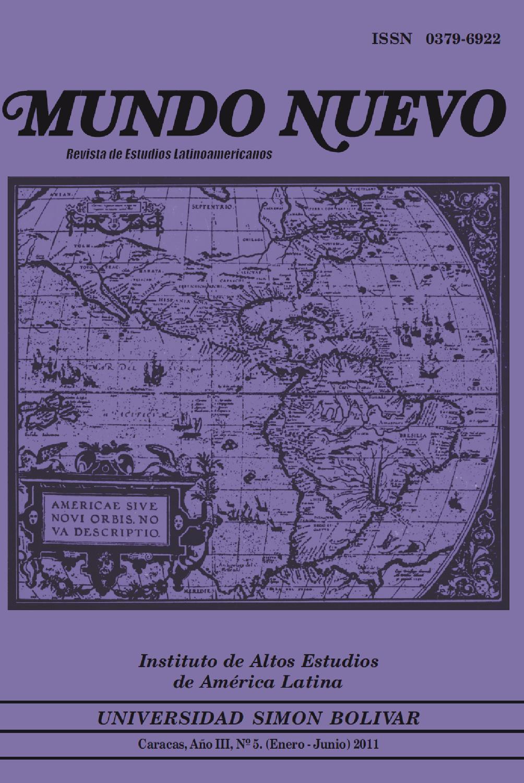 Mundo Nuevo. Revista de Estudios Latinoamericanos_05 by Preparador ...