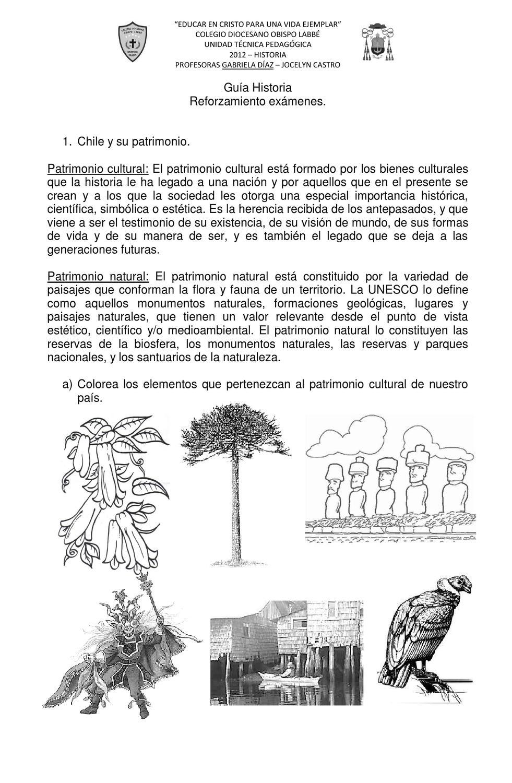 Guía reforzamiento historia by Gabriela Díaz - issuu