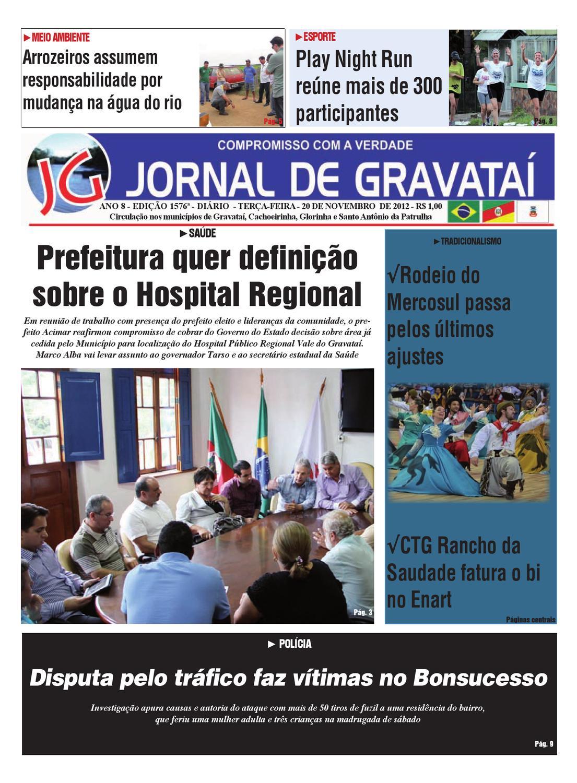 d67f024492a ANO 8 - EDIÇÃO 1576ª - DIÁRIO - TERÇA-FEIRA - 20 DE NOVEMBRO DE 2012 - R   1