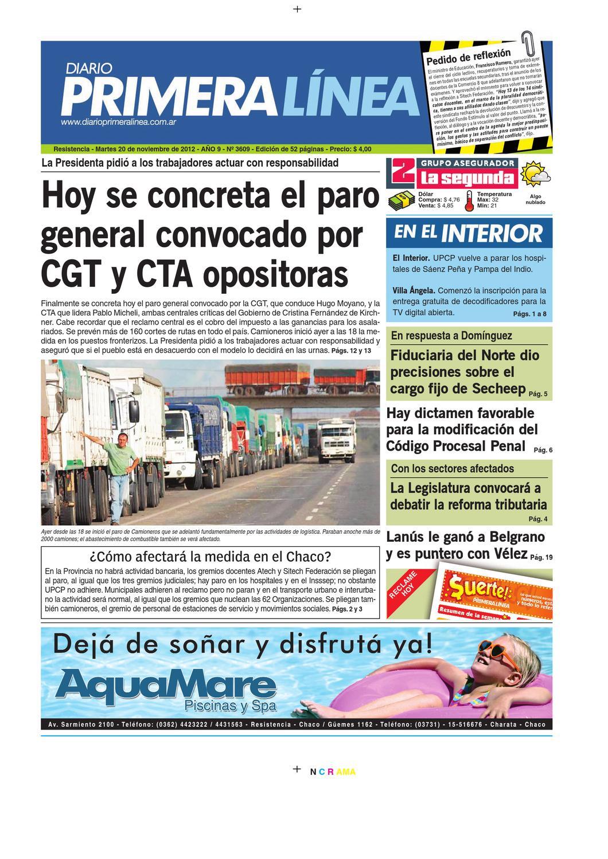 PrimeraLinea 3609 20-11-12 by Diario Primera Linea - issuu