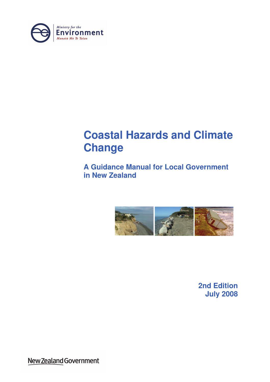 coastal hazards climate change guidance manual by david mclean issuu rh issuu com