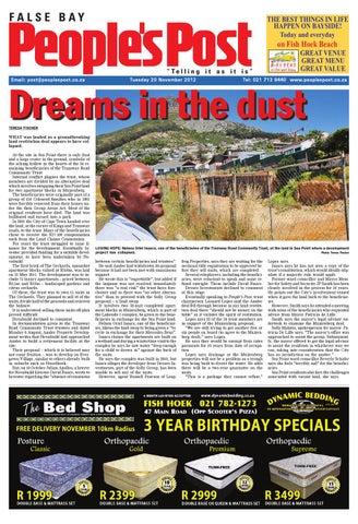 Peoples Post False Bay 20 Nov 2012 By