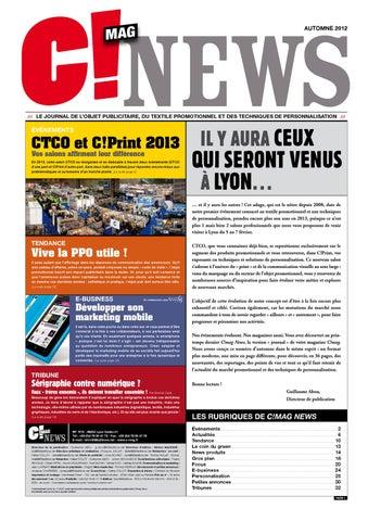 C!mag News - Novembre 2012 by 656 Editions - issuu a4eddfbf55e