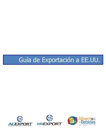 GUIA SECTORIAL DE EXPORTACION DE ALIMENTOS PROCESADOS A ESTADOS ...