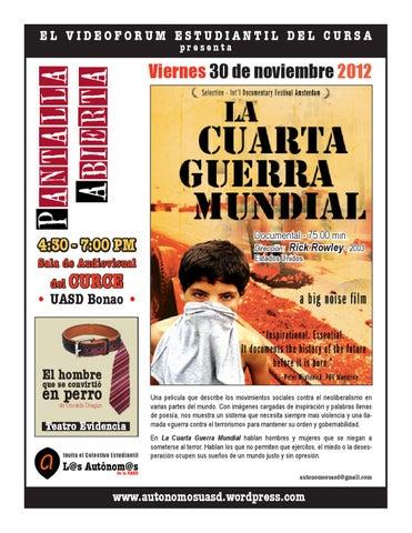 La Cuarta Guerra Mundial by Autónom@s UASD - issuu