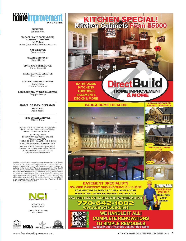 Atlanta Home Improvement 1211 By My Home Improvement Magazine Issuu