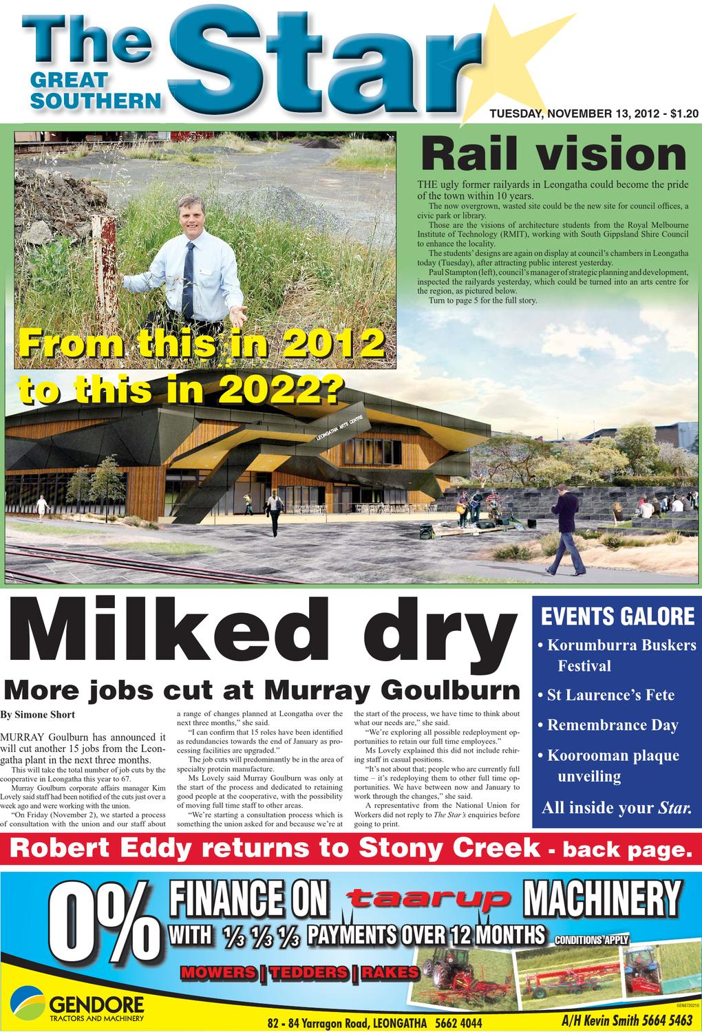 The Great Southern Star - November 13, 2012 by The Great Southern ...