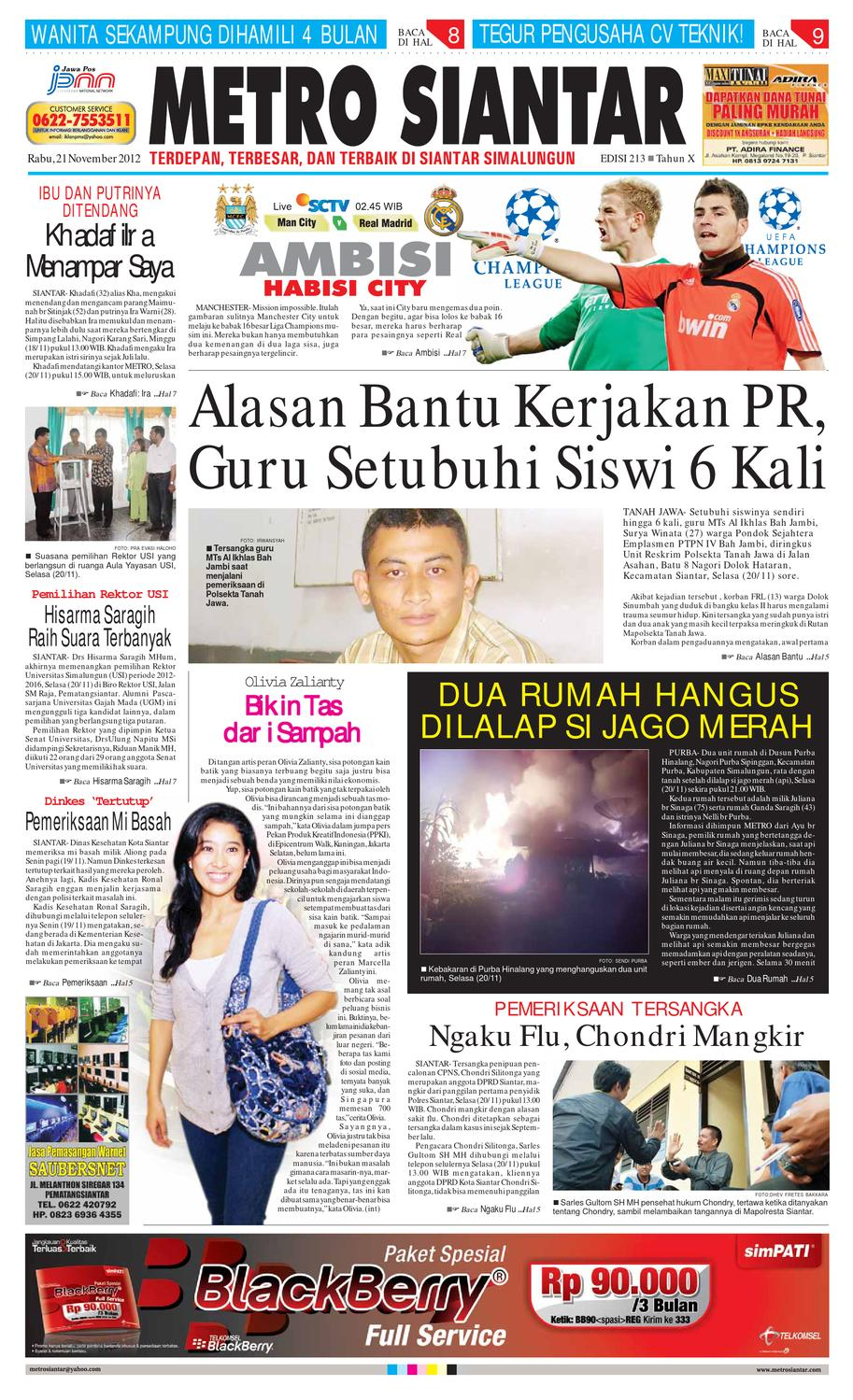 Epaper Metro Siantar By Issuu Produk Ukm Bumn Batik Lengan Panjang Parang Toko Ngremboko