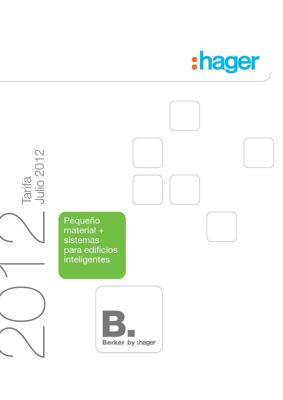 Hager q.3 Marco 5 elementos blanco polar aterciopelado