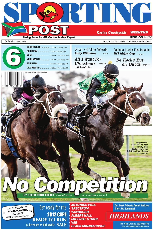 Clairwood horse racing betting calculator parking kooyong classic betting