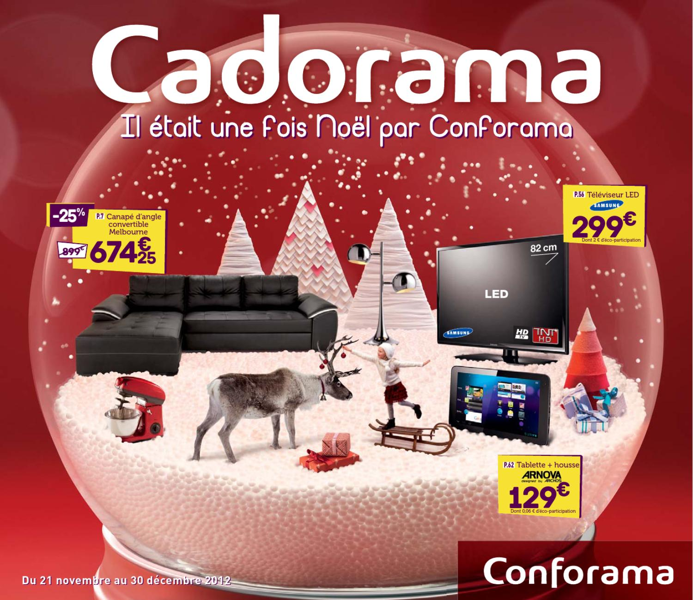 Catalogue Conforama 21 Novembre 30 Décembre 2012 By