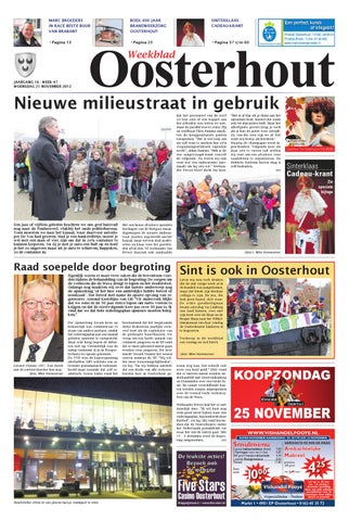 5ecd5831e3b2d4 Weekblad Oosterhout B 21-11-2012 by Uitgeverij Em de Jong - issuu