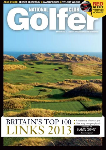 d8b2bdba8b823 National Club Golfer January 2013 Issue by Sports Publications - issuu
