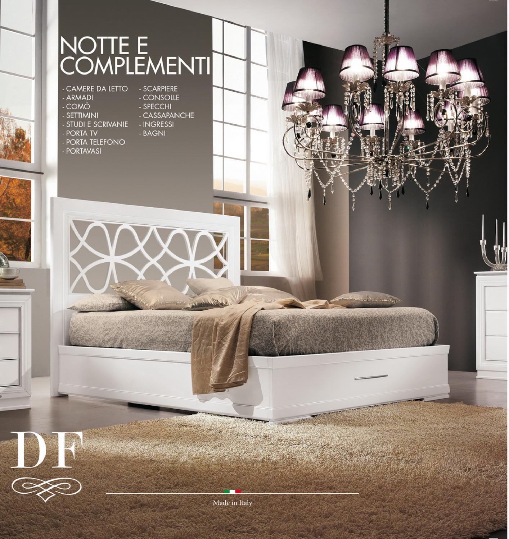 Df mobili classici catalogo zona notte 2013 by df mobili for Mobili zona notte