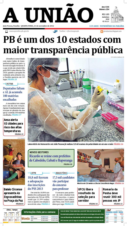 Jornal A União by Jornal A União - issuu 7dca6bd33234d