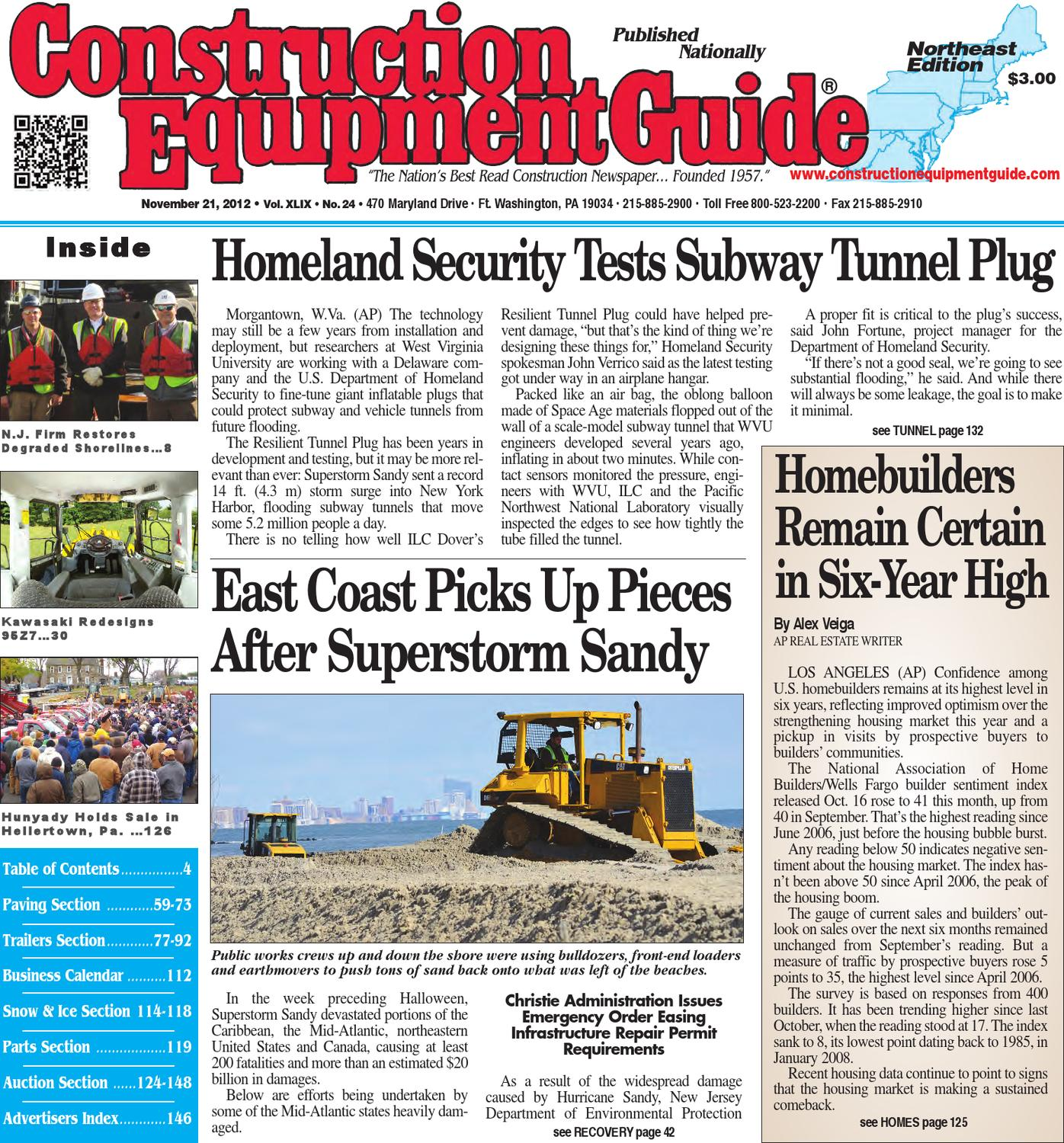 Northeast 242012 By Construction Equipment Guide Issuu Yale Glp060 Wiring Diagram