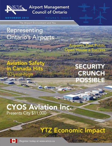 Airport Management Council of Ontario - Issuu