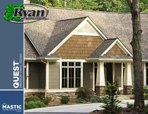 Mastic Quest Vinyl Siding By Poulton Web Design Issuu
