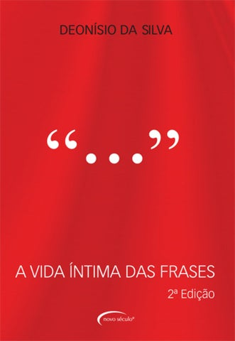 A Vida íntima Das Frases By Novo Século Editora Issuu