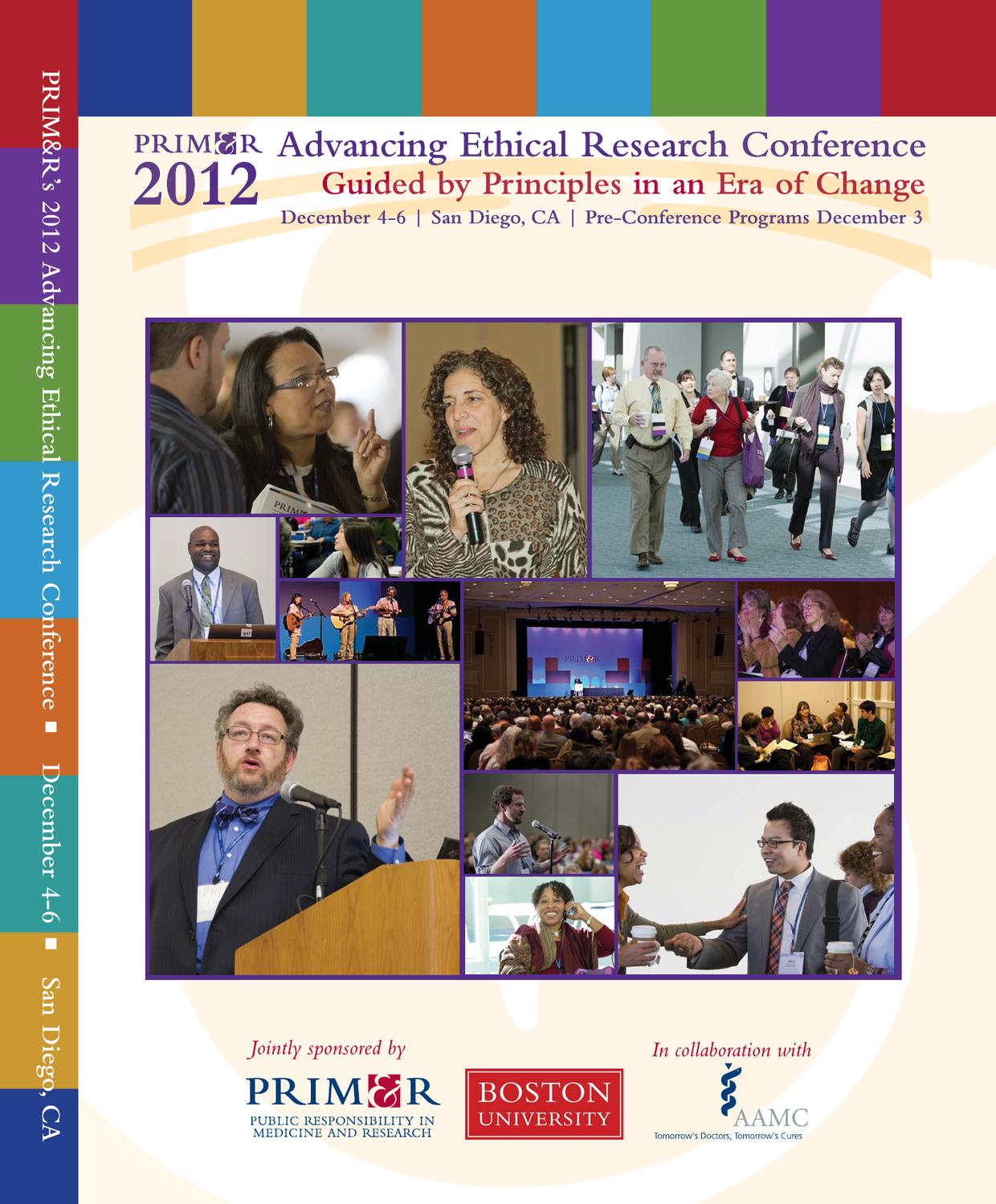 2012 Advancing Ethical Research Conference Guide