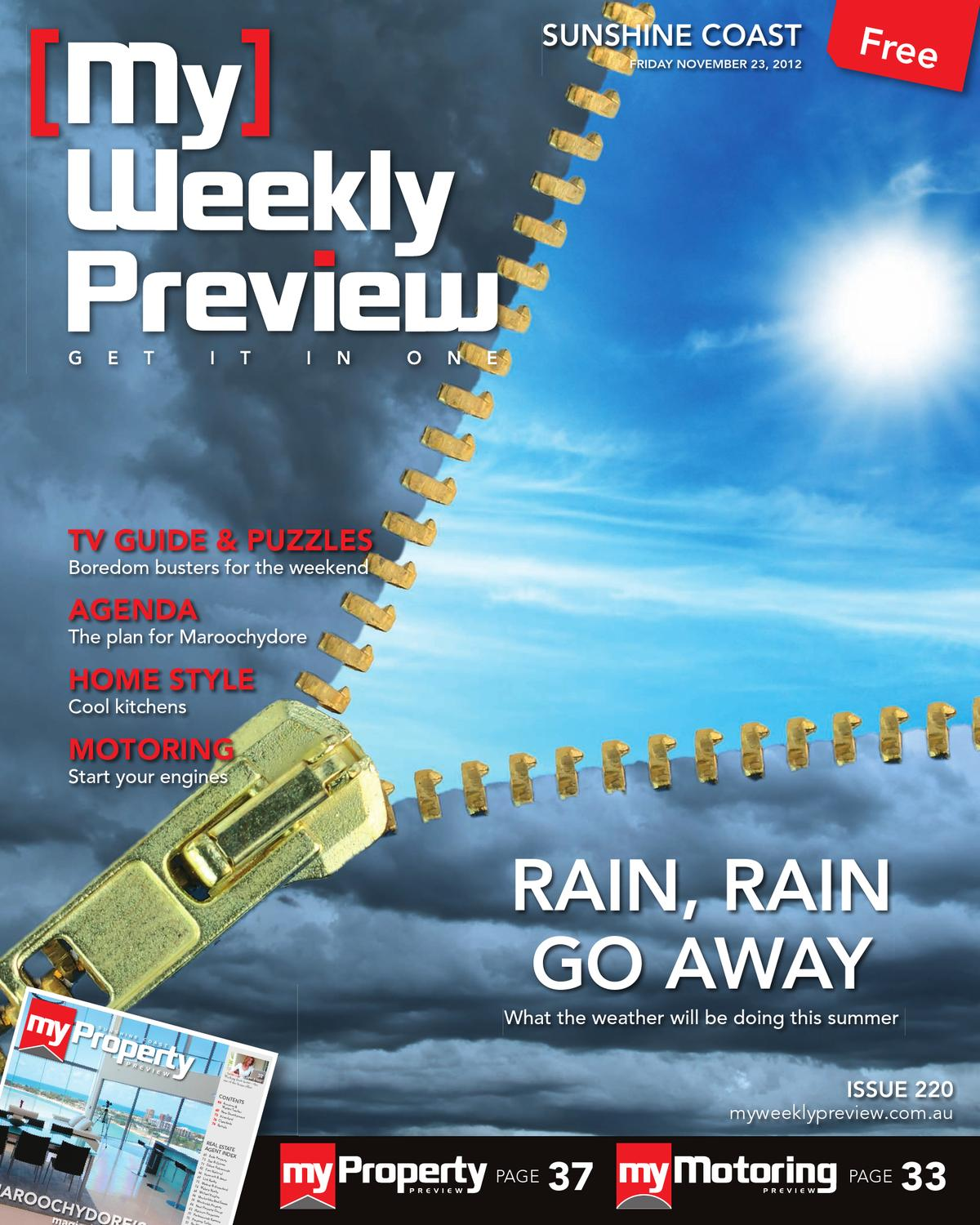 My Weekly Preview Issue 220 - November 23, 2012 by My Weekly Preview ...