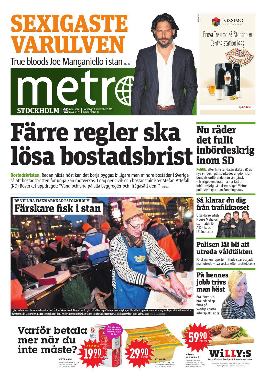 buy popular 2b1cd c4e97 20121122 se stockholm by Metro Sweden - issuu