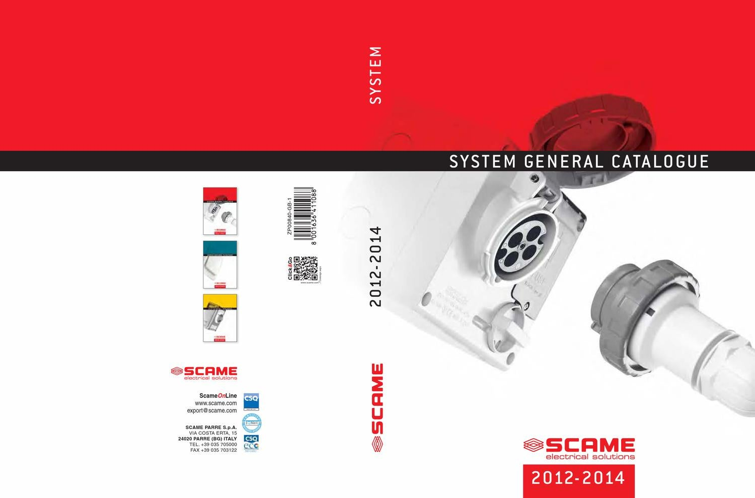 General Catalogue 2012 2014 System English By Scame Parre Spa For The Selftapping Fuse Holder Use With 12v Led Power Issuu
