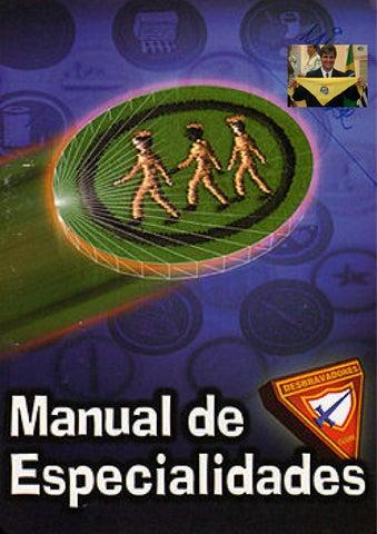 Manual de especalidades by Iasd Vila Canária - issuu 3fcf6383c803a