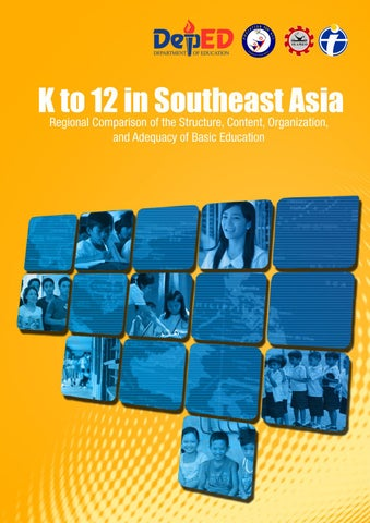 K To 12 In Southeast Asia By DepEd Philippines Issuu