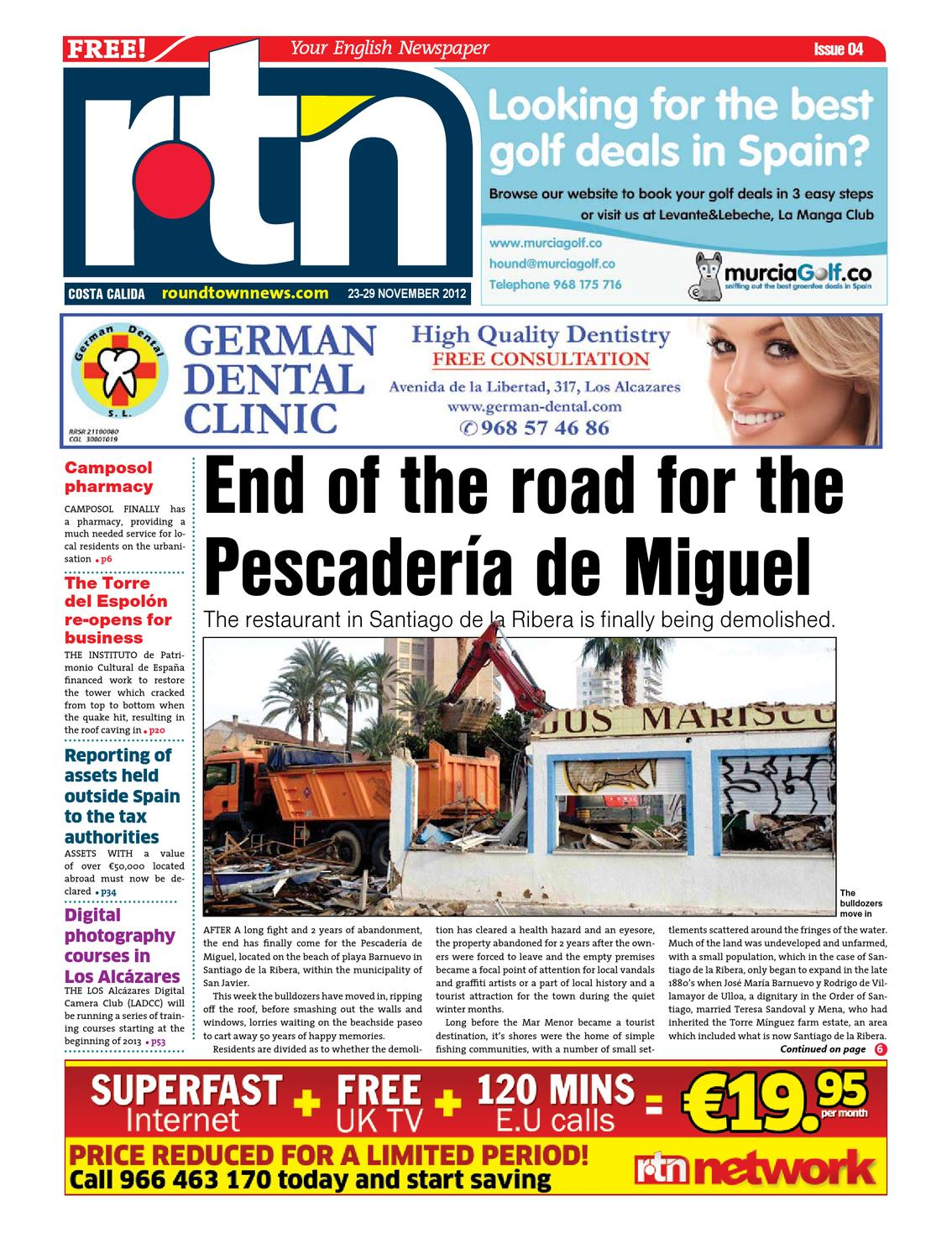 Rtn Costa Calida Edition 684 By Round Town News Issuu Mito A150 Android Jellybean 42