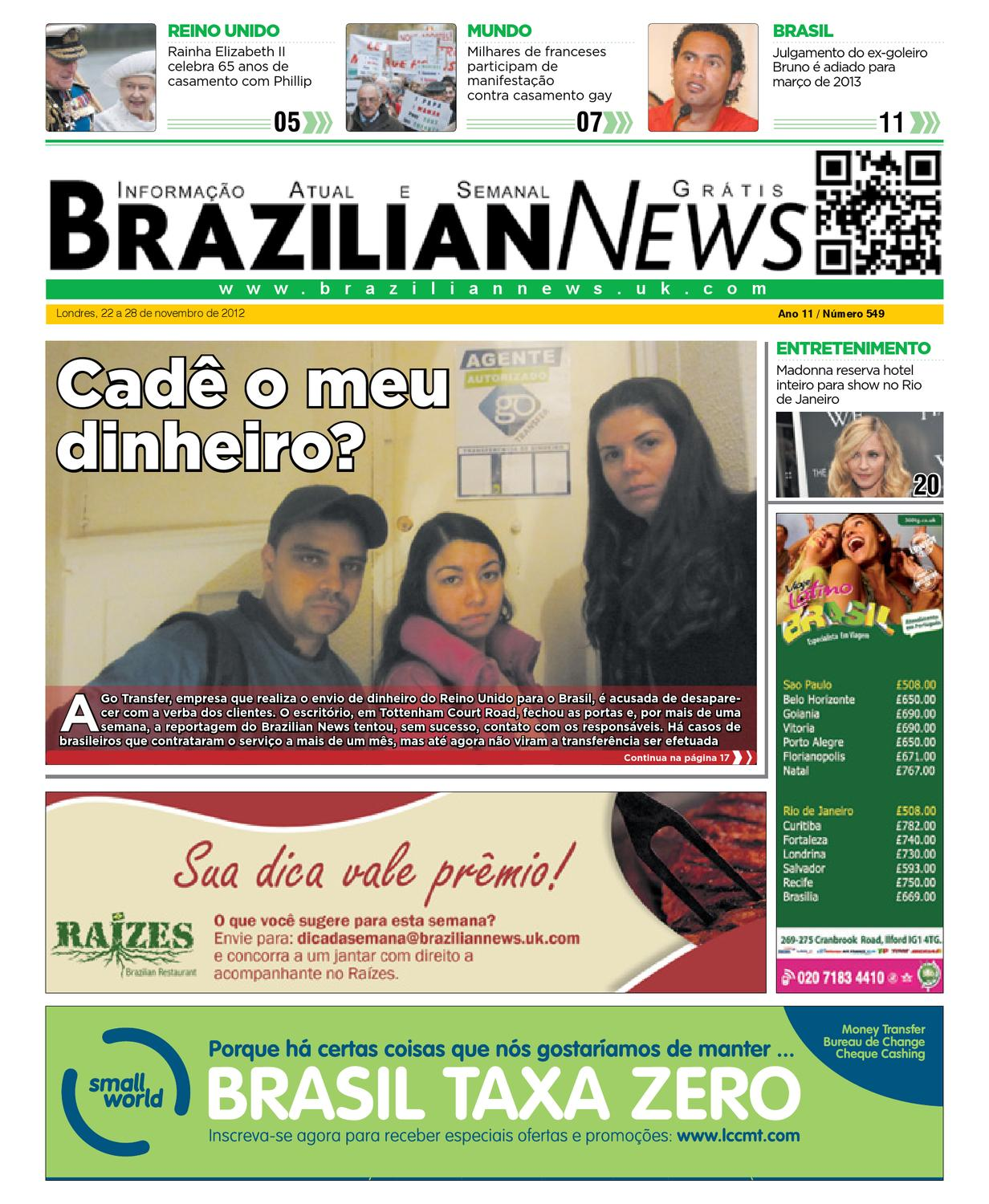 a988507ca0 Brazilian News 549 by Express Media World - issuu
